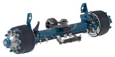 12 Ton 10 Studs Self Steering Axles